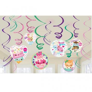 Num Noms Swirl Value Pack Foil Swirl Decorations (24 in a package)