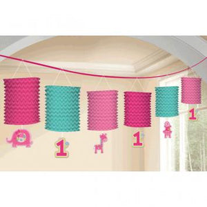 One Wild Girl Paper Lantern Garland