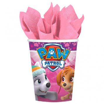 Paw Patrol Girl Cups, 9 oz (16 in a package)