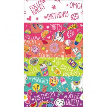 Selfie Celebration Paper Table Cover