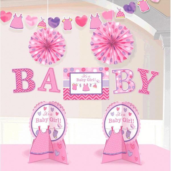 Shower with Love Girl Room Decorating Kit