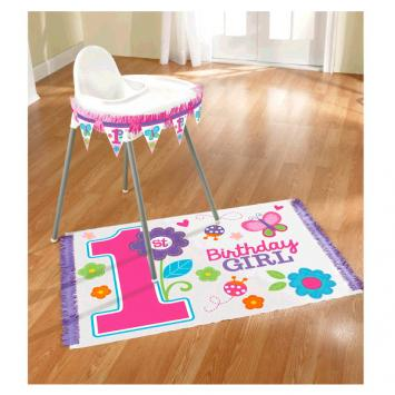 Sweet Birthday Girl High Chair Decorating Kit