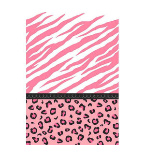 Sweet Safari Girl-Paper Table Cover