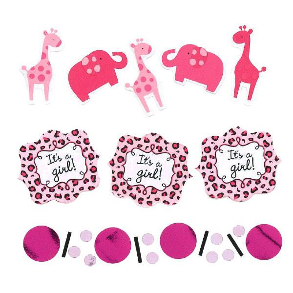 Sweet Safari Girl Value Pack Confetti