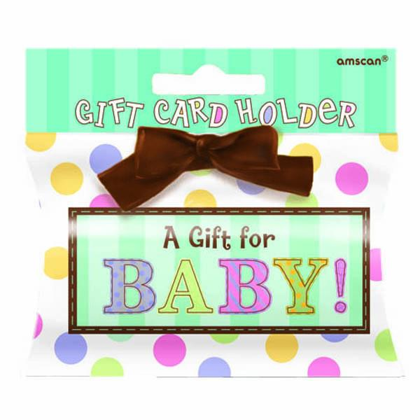 Tiny Bundle Shower Gift Card Holder (10 in a package)