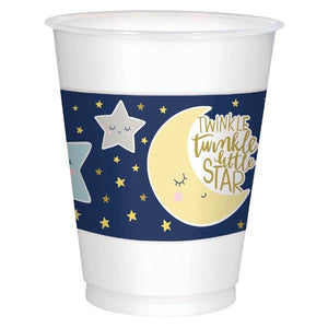 Twinkle Little Star Plastic Cups (25 in a package)