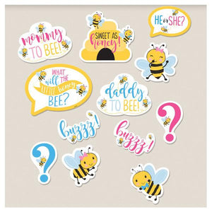 What Will It Bee? Cutouts (12 in a package)