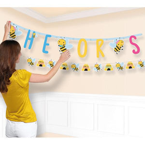 What Will It Bee? Jumbo Letter Banner Kit (2 in a package)
