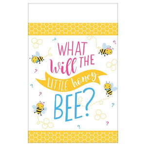 What Will It Bee? Paper Table Cover