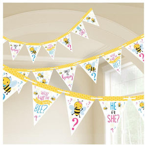 What Will It Bee? Pennant Banner