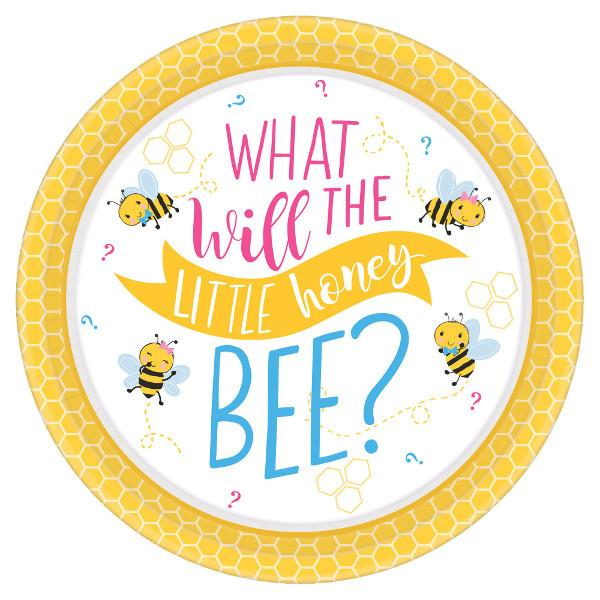 What Will It Bee? Round Plates, 10 1/2