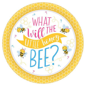 "What Will It Bee? Round Plates, 10 1/2"" (16 in a package)"