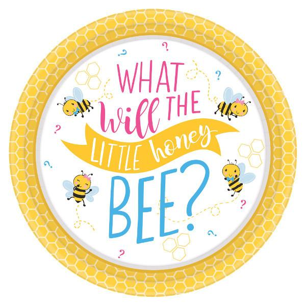 What Will It Bee? Round Plates, 7