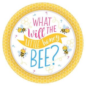 "What Will It Bee? Round Plates, 7"" (16 in a package)"