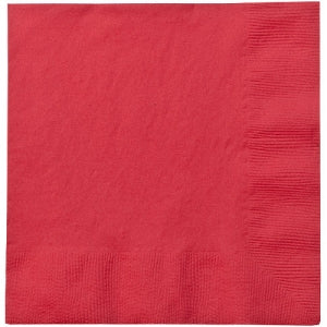 Red Dinner Napkins 24 Ct (Case Qty: 1152)