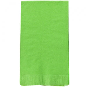 Lime Green Guest Towels 16 Count (Case Qty: 576)