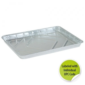 Aluminum Half Size Cookie Sheet - Individually Labeled with UPC (Case Qty: 100)