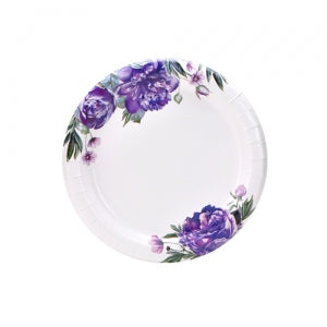 "Peony - 7"" Plates - 48 Count (Case Qty: 576)"