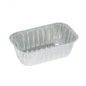 Aluminum 1 Lb Loaf Pan (Case Qty: 200)