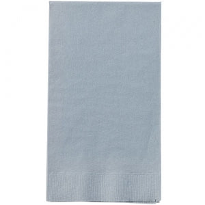 Silver Guest Towels 16 Count (Case Qty: 576)
