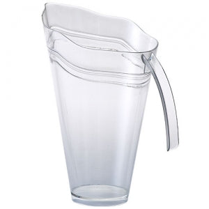 48 oz. Clear Plastic Pitcher (Case Qty: 50)