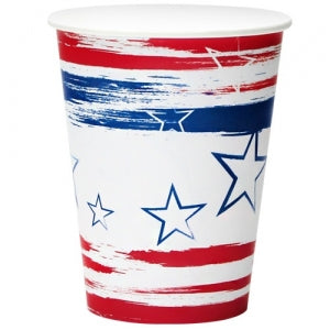 Stars N'Stripes 12oz Paper Cup 24 Count (Case Qty: 288)