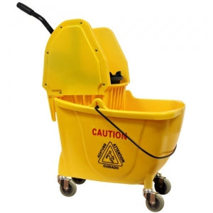 35 Quart Mop Bucket with Wringer (Case Qty: 1)