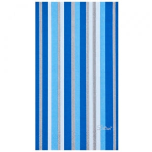 Blue Stripe Bistro Paper Napkins 15 Ct (Case Qty: 360)