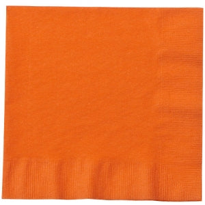 Orange Lunch Napkins 20 Count (Case Qty: 720)