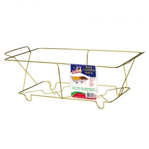 Chafing - Full Size Chafing Rack - Gold (Case Qty: 50)