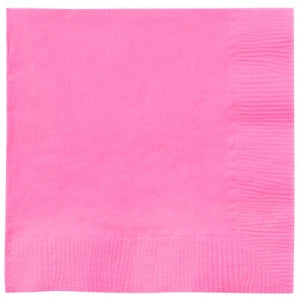 Luncheon Napkin, Hot Pink, 20 Count (Case Qty: 720)