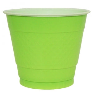 9 oz. Plastic Co-Ex Cup - Lime Green - 50 Count (Case Qty: 600)