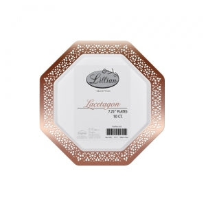 Lacetagon - Polished Rose Gold - 7.25
