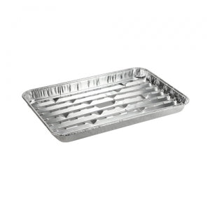 Banded - Large Broiler Pan - Aluminum - 3 Count (Case Qty: 144)