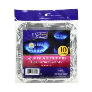 Aluminum Large Square Gas Burner Guard (Case Qty: 480)