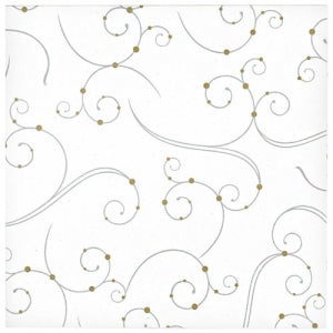 Swirls & Pearls Luncheon Napkin 40 Count (Case Qty: 960)