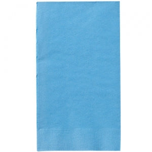 Light Blue Guest Towels 16 Count (Case Qty: 576)
