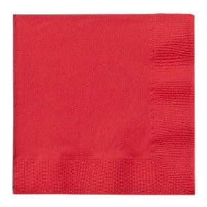 Red Beverage Napkins 24 Count (Qty: 864)