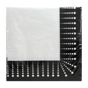Black Décor - Luncheon Napkin (Case Qty: 1440)