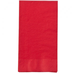Red Guest Towel 16 Ct (Case Qty: 576)