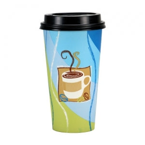 Spring Café - 20 oz. Hot Cup with Lid (Case Qty: 288)