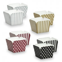 "Elements - 2"" Square Baking Cups - Assorted Colors - 12 Count (Case Qty: 432)"