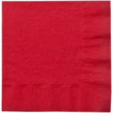 Red Lunch Napkins 20 Count (Case Qty: 720)