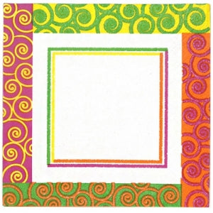 Razzle Dazzle Luncheon Napkin 40 Count (Case Qty: 960)