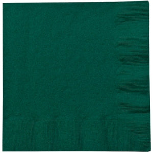 Hunter Green Lunch Napkins 20 Count (Case Qty: 720)
