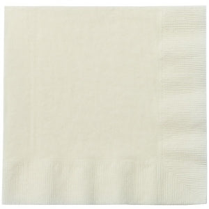 Ivory Lunch Napkins 50 Count (Case Qty: 1200)