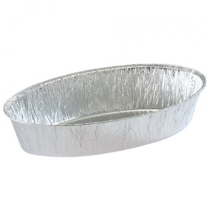 Aluminum 5 LB Extra Large Oval Pan (Case Qty: 200)