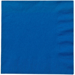 Blue Lunch Napkins 20 Count (Case Qty: 720)