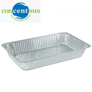 Aluminum Full Size Deep Pan Concentsus (Case Qty: 50)