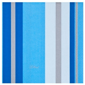 Blue Stripe Luncheon Napkin 40 Ct (Case Qty: 960)